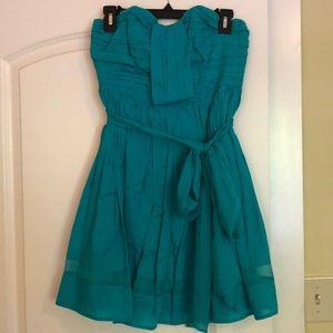 Turquoise dress 4